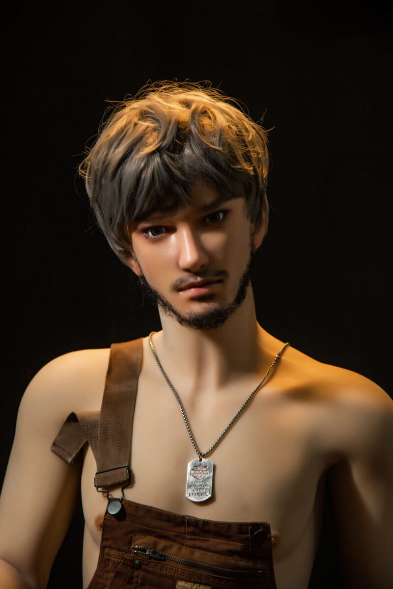 170cm ZHOU tpe with silicone head male love doll 3