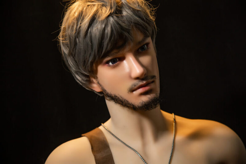 170cm ZHOU tpe with silicone head male love doll 6