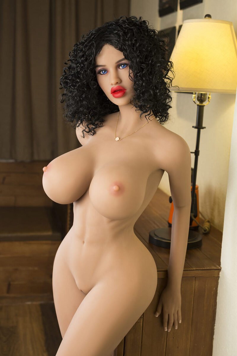 SY cheap love doll series 161 thick lips 9