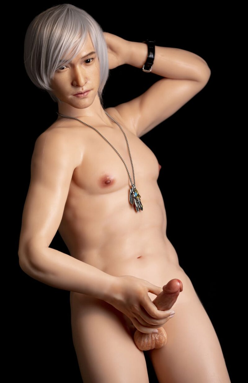 Silicone male sex doll Japanese male doll 12