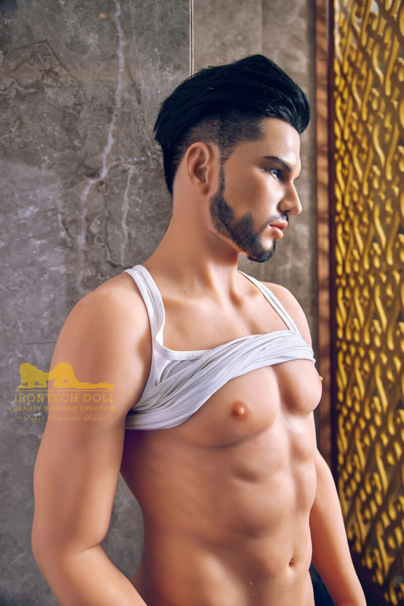 silicone male sex doll Kevin suntanned skin 11
