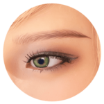 sex doll heads options-green eyes