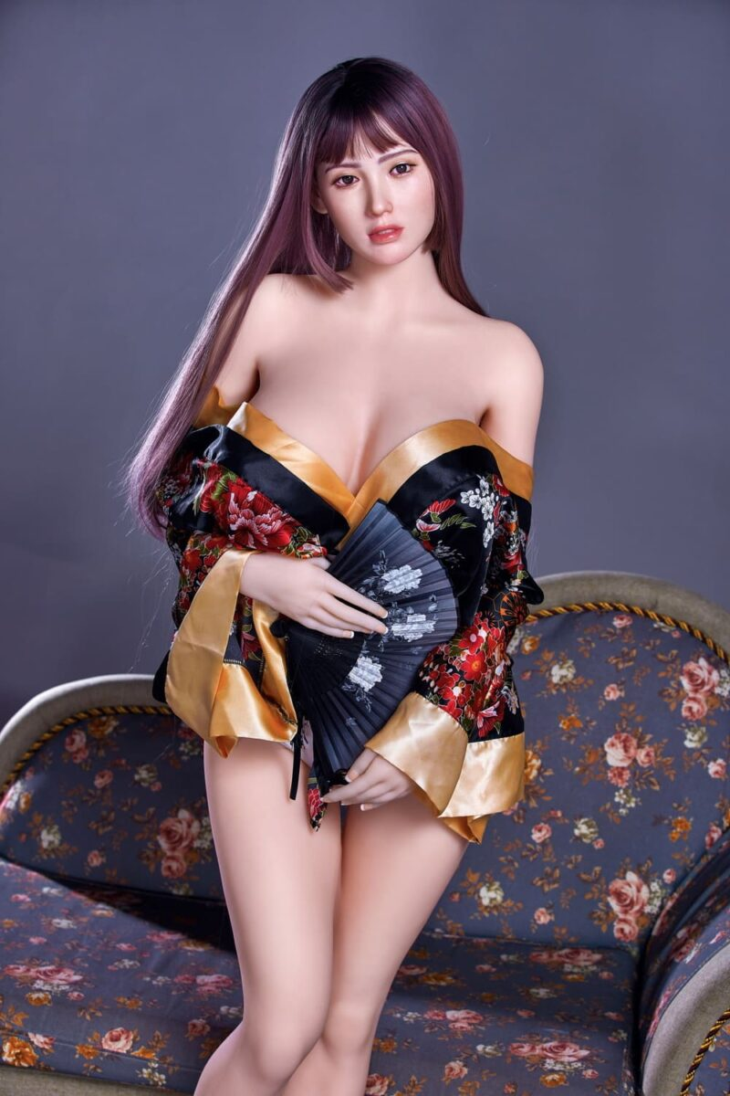 163cm silicone head and tpe body sex doll 03