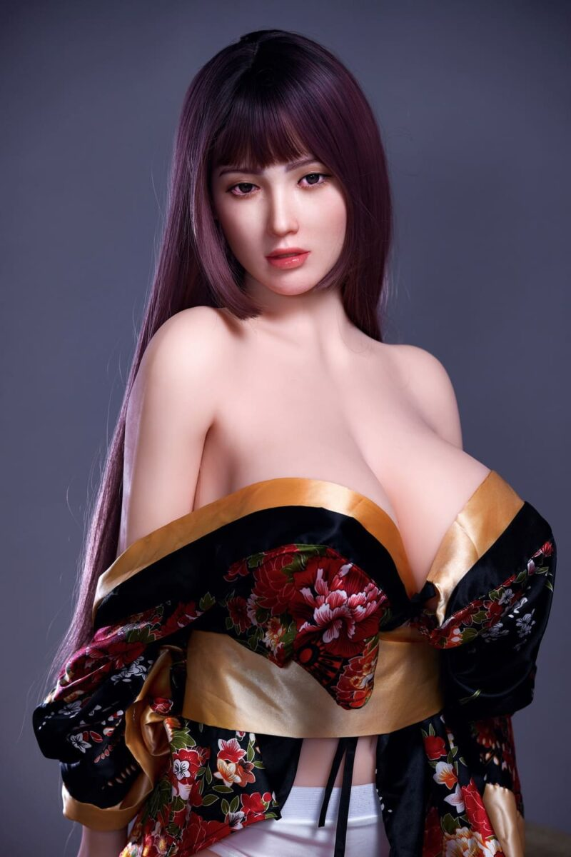 163cm silicone head and tpe body sex doll 04