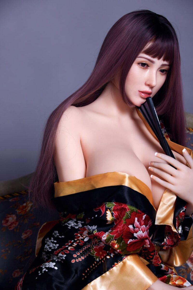 163cm silicone head and tpe body sex doll 06