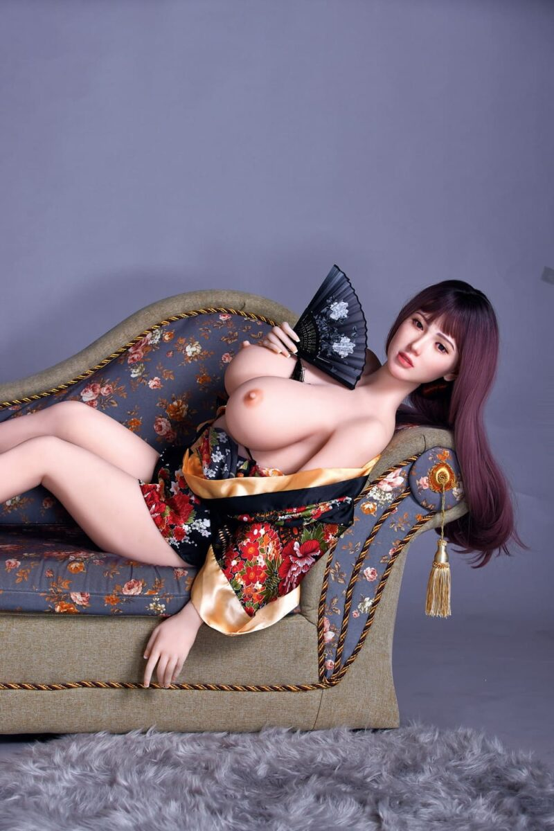 163cm silicone head and tpe body sex doll 07