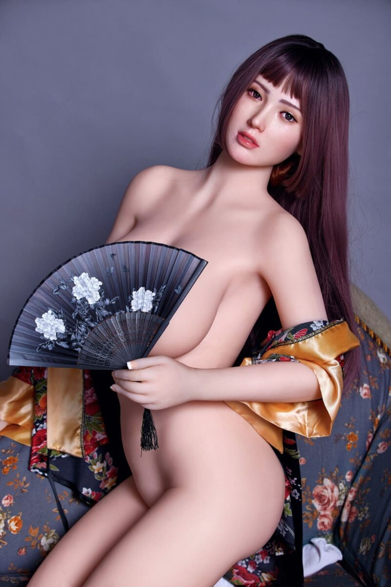 163cm silicone head and tpe body sex doll 09