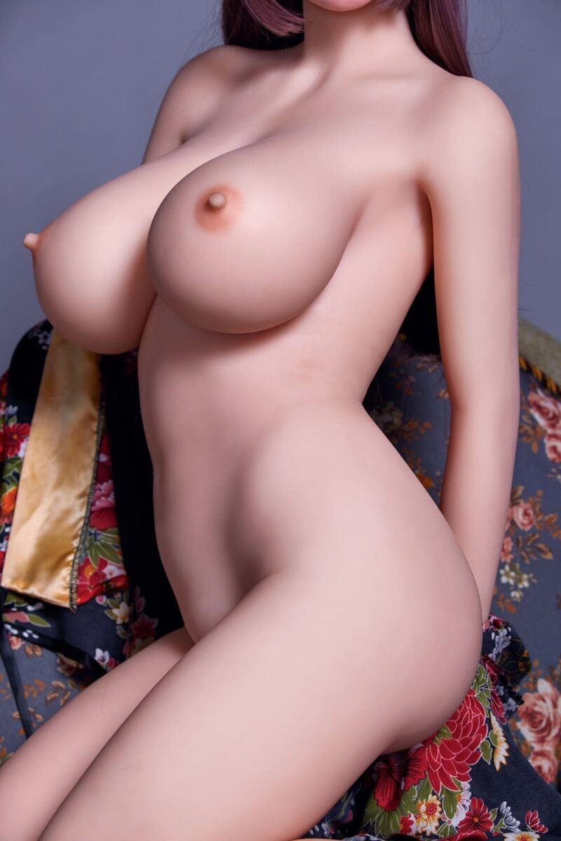 163cm silicone head and tpe body sex doll 10