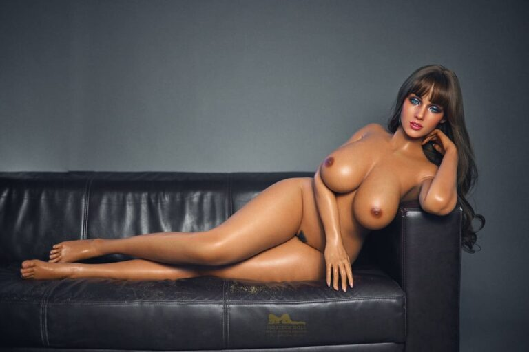 Tanned skin silicone sex doll 15